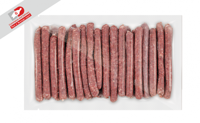 Beef sausages D&D
