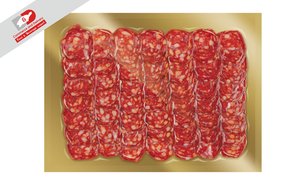 Salamela Kalabro picant slice