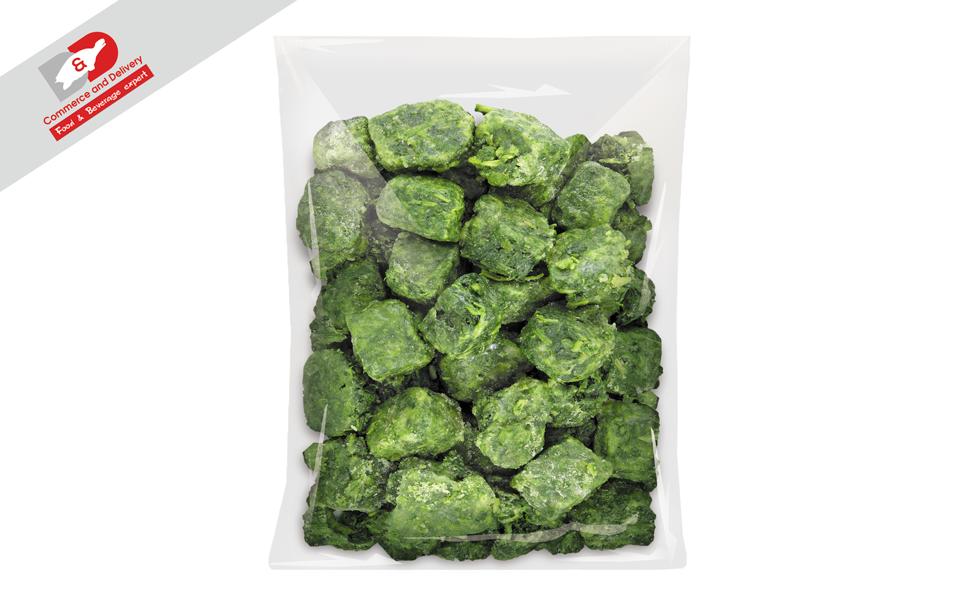 Spinach frozen 2.5kg