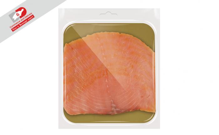 Smoked salmon sliced D&D