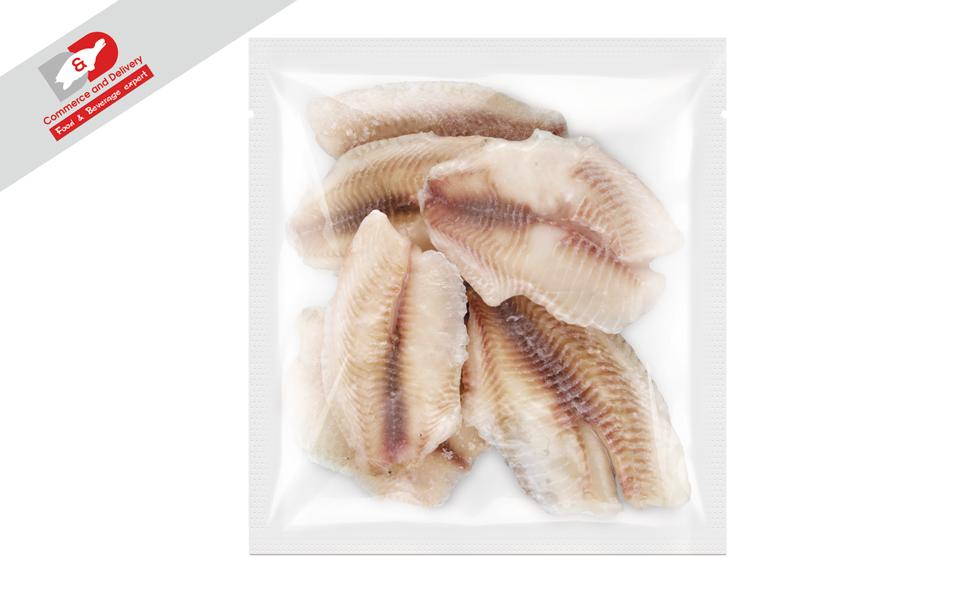 Tilapia fillet without skin 1kg