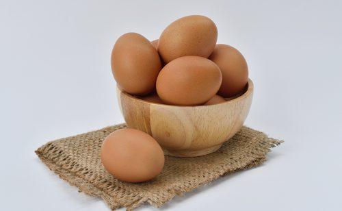 Бакалия и яйца