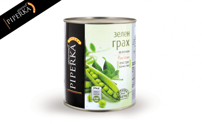 Green peas Piperka 800g
