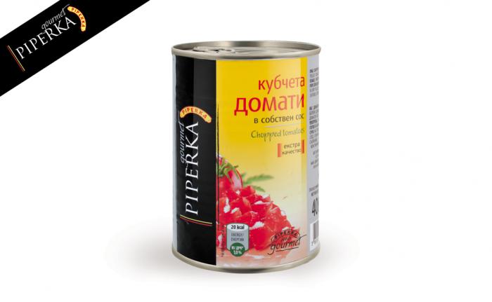 Chopped tomatoes Piperka 400g